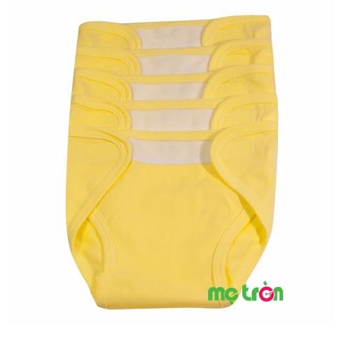 - Tã dán cho trẻ sơ sinh màu Hello BB 2 size M, L được làm từ chất liệu vải conton rất mềm mại, an toàn cho bé. - Không gây dị ứng hay kích ứng da cho bé - Thiết kế dạng quần, rất dễ mặc
