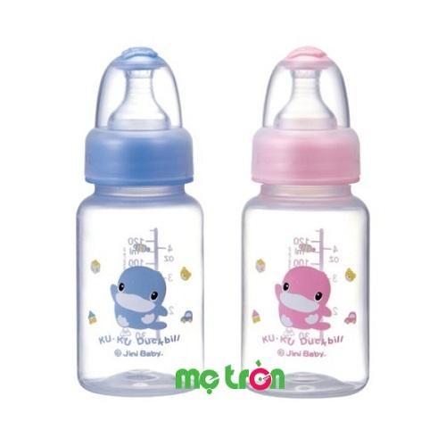Bình sữa KUKU 120ml nhựa PP cổ chuẩn KU5918 được làm từ chất liệu nhựa cao cấp, hoàn toàn không chứa BPA gây hại cho sức khỏe của bé. Thân bình trơn nhẵn, nhỏ gọn nhẹ giúp bé hoàn toàn có thể cầm được để bú bình.