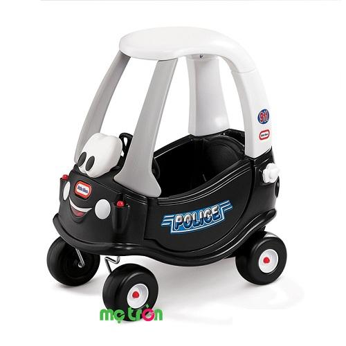 Xe ôtô chòi chân cho bé mô hình xe cảnh sát Little Tikes LT-615795 được làm từ chất liệu nhựa đúc nên rất bền và chắc, kích thước vừa phải, thích  hợp sử dụng cho trẻ chơi trong nhà và ngoài trời. Sản phẩm có màu sắc hài hòa, cùng với hình dáng xe khỏe khoắn kích thích thị giác bé, đồng thời tăng cường khả năng cầm nắm, điều khiển đồ vật từ sớm của trẻ.