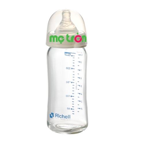 Bình sữa thủy tinh alpha Richell siêu nhẹ cổ rộng 260ml là dòng sản phẩm chất lượng cao cấp của thương hiệu Ritchell và được nhiều bậc phụ huynh lựa chọn cho bé sử dụng. Bình được làm từ chất liệu thủy tinh alpha – 33, một loại chất liệu thủy tinh chịu nhiệt tốt nhất và đóng vai trò quan trọng trong nghiên cứu y khoa rất an toàn nên mẹ đừng lo lắng sẽ làm ảnh hưởng đến sức khỏe của bé nhé.
