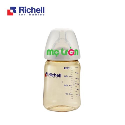 Bình sữa nhựa PPSU 200ml Richell RC98137 an toàn cho sức khỏe của bé là dòng sản phẩm chất lượng của thương hiệu Ritchell Nhật Bản. Với thiết kế bình nhỏ gọn và vừa tay cầm của bé giúp bé dễ dàng cầm bình bú hơn. Bên cạnh đó, bình được làm từ chất liệu nhựa cao cấp hoàn toàn không chứa BPA gây hại cho sức khỏe của bé.