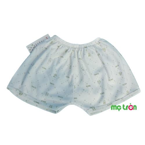 - Quần đùi IQ Baby được làm từ chất liệu 100% cotton mềm mại, an toàn. - Kiểu quần cộc mang đến sự thoải mái tối ưu cho bé khi mặc trong nhà. - Lưng chun co giãn không gây cấn hay khó chịu cho bé.