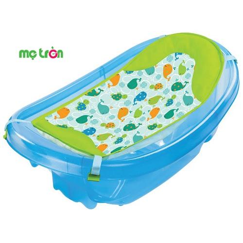 Chậu tắm có lưới màu xanh hoặc màu hồng Summer Infant cho bé