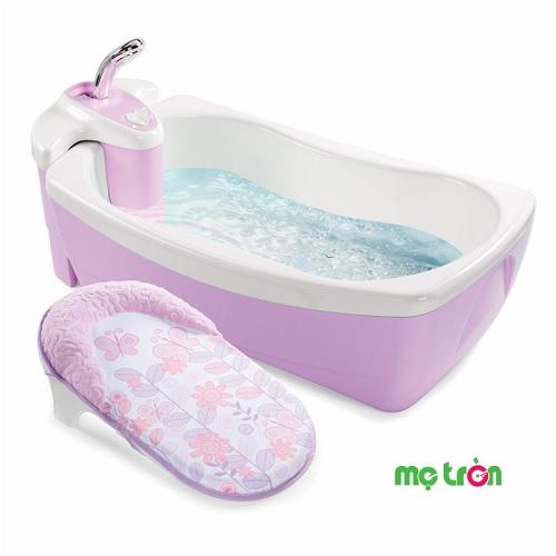 Chậu tắm Spa cho bé có vòi hoa sen Summer 3 màu nhẹ nhàng