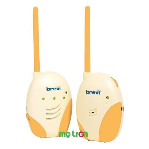 Máy báo khóc thiết kế công nghệ hiện đại Brevi Baby Monitor BRE 365 ra đời với âm thanh rõ nét sẽ giúp bố mẹ nghe thấy tiếng bé khóc và ngay lập tức đến cạnh bên bé và dỗ dành. Các thiết bị được thiết kế gọn nhẹ giúp mẹ tiện lợi mang theo bên mình và cảm thấy an tâm dù không ở bên cạnh con.