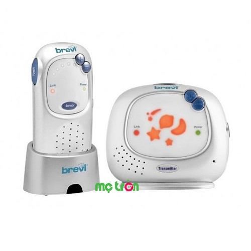 Máy báo khóc hai chiều Brevi Digital Baby BRE 381 đến từ thương hiệu Brevi với âm thanh rõ nét giúp bạn dễ dàng nhận biết bé đang ngủ hay quấy khóc, microphone có độ nhạy cao sẽ ngay lập tức truyền tín hiệu đến mẹ để mẹ có thể kịp thời đến bên cạnh bé dỗ dành. Ngoài ra, máy có 6 cấp độ điều chỉnh âm thanh đi kèm hệ thống chiếu sáng êm dịu và âm thanh phát ra nhẹ nhàng giúp bé ngủ ngon giấc hơn ngay cả khi mẹ không bên cạnh.