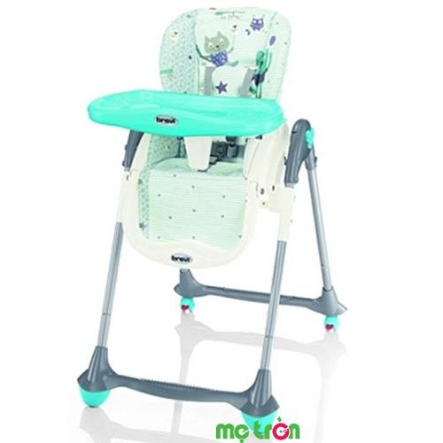 <p>Ghế ăn bột Brevi Convivio BRE281-033 màu xanh ngọc là sản phẩm chất lượng cao cấp với những tính năng tiện lợi. Sản phẩm được làm từ chất liệu nhựa cao cấp, không chứa các thành phần gây hại cho sức khỏe của bé. Sản phẩm dùng cho trẻ từ 6 tháng trở lên.</p>