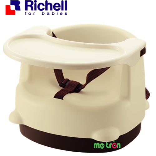 Ghế ăn với khay ăn 2 nấc điều chỉnh theo độ tuổi Richell RC98019