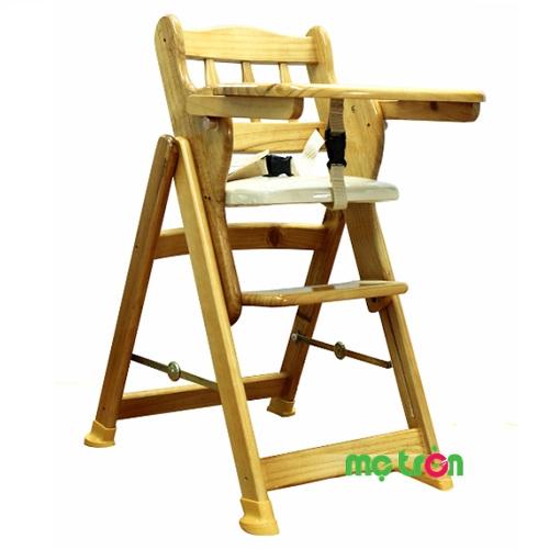 <p>Chiếc ghế ăn bột bằng gỗ Autoru được thiết kế vững chắc, chống đổ ngã, giúp hình thành cho bé thói quen cùng ăn cơm với cả nhà. Ghế còn được trang bị thêm dây đai an toàn đảm bảo bé ngồi cố định trên ghế không bị tuột xuống.</p>