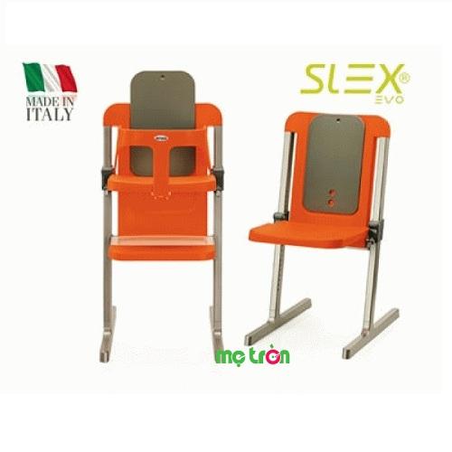 Ghế ăn bột Brevi Slex Evo BRE212-234 màu cam xám được được cấu tạo bằng một khung nhôm chắc chắn và nhựa PP không độc hại đảm bảo an toàn cho sức khỏe của bé. Ghế được thiết kế tinh tế và với màu sắc bắt mắt giúp bé thích thú hơn và có những bữa ăn ngon lành.