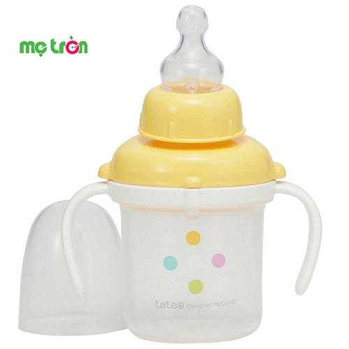 - Sản phẩm làm từ chất liệu nhựa PP cao cấp, hoàn toàn không chứa BPA gây hại cho sức khỏe của bé. - Thiết kế 2 tay cầm 2 bên tiện lợi. - Sản phẩm được thiết kế thích hợp dành cho trẻ đang trong giai đoạn tập uống.