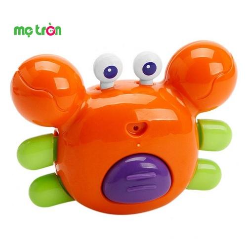 - Đồ chơi tắm cua nhiều màu Toyroyal được làm từ chất liệu nhựa chống khuẩn an toàn. - Cho bé vui vẻ hơn trong lúc tắm. - Giúp bé phát triển các kỹ năng cơ bản.