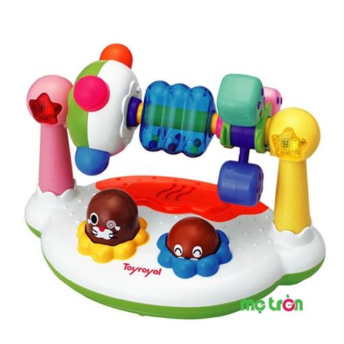 - Bảng điều khiển phát nhạc Toyroyal được làm từ chất liệu nhựa tổng hợp ABS cao cấp, an toàn. - Thiết kế nhiều màu sắc bắt mắt, nổi bật cho bé vui thích khi chơi - Âm thanh vui nhộn kích thích thính giác của bé phát triển.