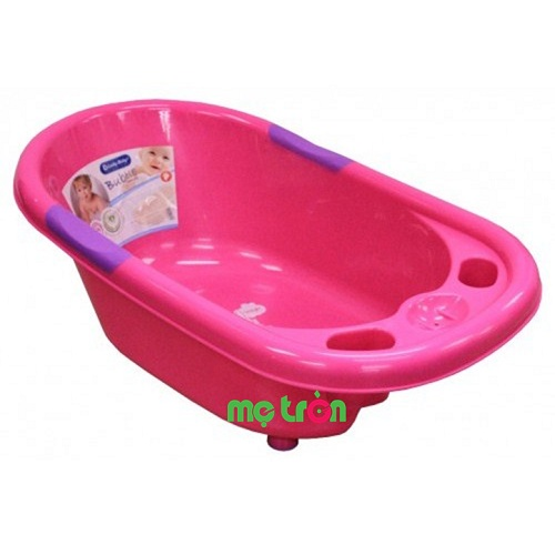 Thau nhựa tắm bé Lucky Baby 595114-PINK  màu hồng