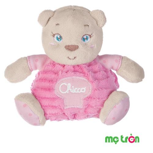 - Hộp quà sơ sinh chú gấu hồng Chicco được làm bằng chất liệu rất an toàn cho trẻ.  - Kèm hộp bìa bằng carton dày dặn thiết kế xinh xắn và lịch sự. - Thích hợp cho các bé gái từ sơ sinh trở lên.