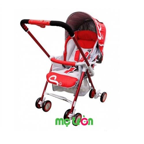 <p>Xe đẩy Lucky Baby Smart S2 888018-RD thiết kế tinh tế màu đỏ hiện đại với cần đẩy 2 chiều (xoay ra phía trước và phía sau) giúp mẹ có thể xoay chiếc xe đẩy theo ý, cho bé hướng mặt ra ngoài hoặc quay vào mẹ. Ngoài ra, xe đẩy có thể gấp gọn khi không sử dụng, tiết kiệm diện tích và tự đứng khi gấp sẽ là sự lựa chọn tuyệt vời của bố mẹ dành cho con yêu.</p>