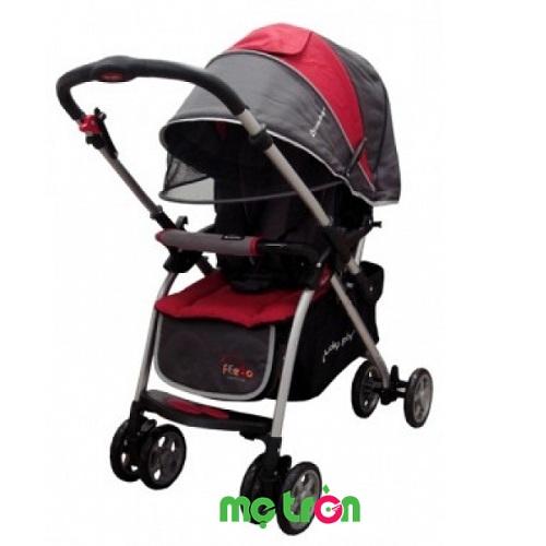 <p>Xe đẩy em bé Lucky Baby Feebo 501276-RED màu đỏ tinh tế nhập khẩu từ Singapore thiết kế khung nhẹ bằng nhôm siêu nhẹ cao cấp. Xe đẩy có đệm nằm thấm hút mồ hôi mang lại cảm giác thoải mái cho bé. Sản phẩm được thiết kế hiện đại với màu sắc sang trọng, chỗ ngồi rộng rãi thích hợp cho bé từ 0 – 36 tháng tuổi chắc chắn là sự lựa chọn hoàn hảo cho các cuộc dạo chơi bên ngoài cùng gia đình.</p>