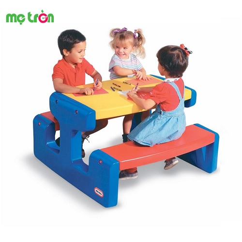 Bộ bàn Picnic Picnic Table (Primary) Little Tikes LT-466800060
