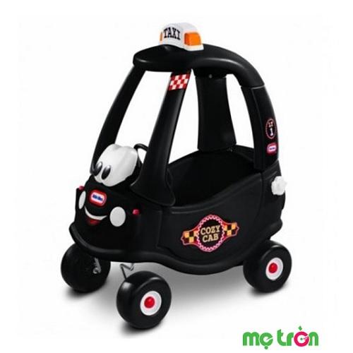 Xe chòi chân cozy mô phỏng xe taxi màu đen Little Tikes LT-172182 là mô hình xe đồ chơi được thiết kế dành riêng cho các em bé từ 1 tuổi rưỡi trở lên. Xe có các chức năng như xe thật như cửa xe có thể đóng mở dễ dàng, nút khởi động, có còi xe và cả nơi đổ xăng cùng nơi giử bình nước giải tỏa những cơn khát.