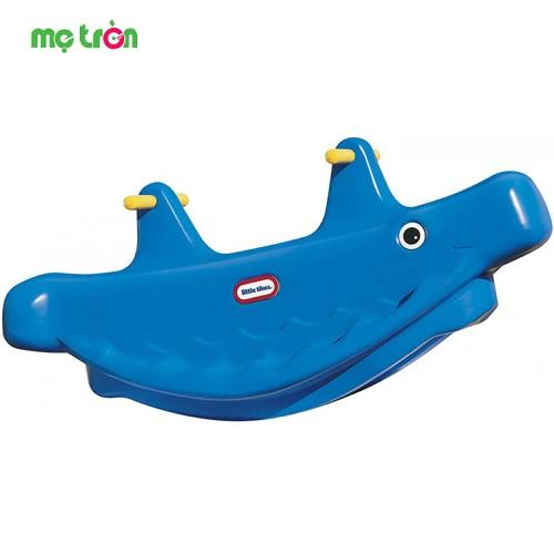 - Bập bênh lớn màu xanh cho bé Little Tikes LT-487900070 được làm từ chất liệu cao cấp an toàn. - Tăng khả năng vận động cho bé. - Kích thích các giác quan.