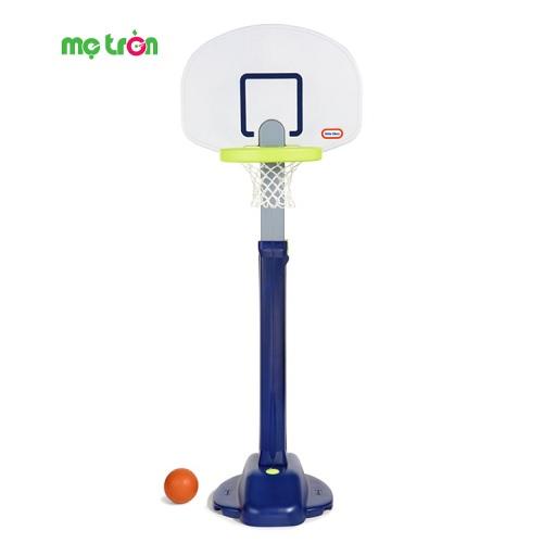- Bộ bóng rổ cao 180cm 2 màu xanh lá/xanh navy Little Tikes LT-638206 được làm từ chất liệu an toàn. - Kích thích các khả năng vận động cho bé. - Dành cho bé trên 3 tuổi.