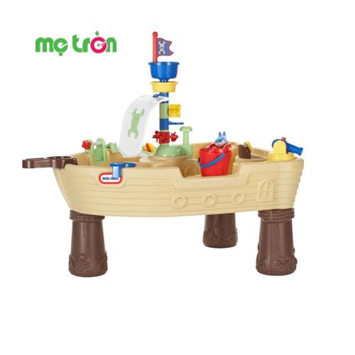 - Bàn chơi nước cho bé hình cướp biển Little Tikes LT-628566M được làm từ chất liệu nhựa cao cấp, an toàn. - Thiết kế mô hình sinh động, đáng yêu cho bé vui thích khi chơi. - Dành cho các bé từ 2 tuổi trở lên.