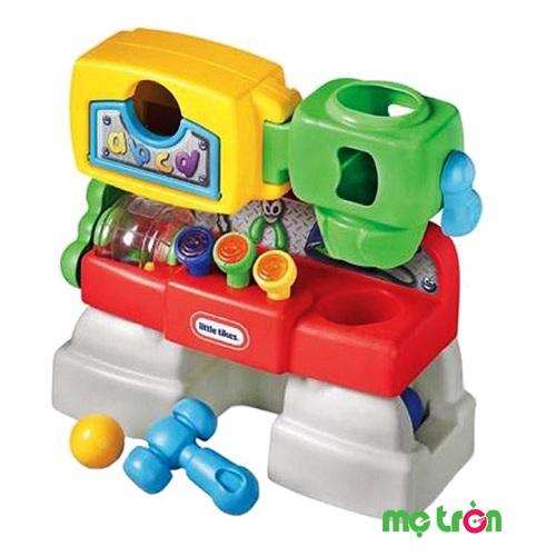 - Đồ chơi cửa hàng vui nhộn cho bé Little Tikes LT-627552M được làm từ chất liệu nhựa an toàn. - Phát ra âm thanh vui nhộn cùng thiết kế đẹp mắt thu hút bé khi chơi. - Dành cho các bé từ 6 tháng đến 3 tuổi.