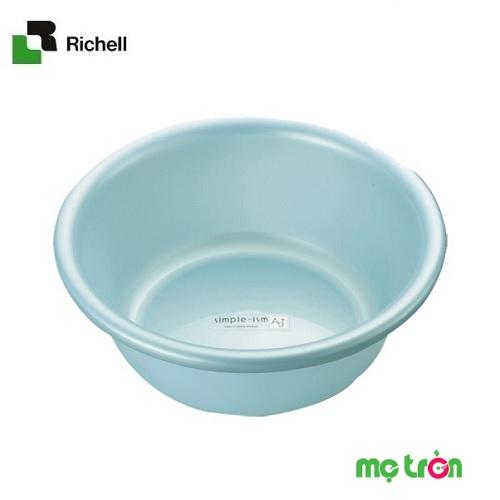 Chậu nhựa kháng khuẩn 2.6L Richell 3 màu trắng, xanh lơ, hồng