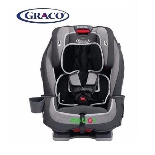 <p>Ghế xe hơi 3 giai đoạn Graco Milestone Kline GC-8AE02KNE là dòng sản phẩm cao cấp chất lượng của thương hiệu Graco. Ghế có nhiều tính năng tiện lợi như 4 vị trí ngã có thể tùy chỉnh phù hợp theo độ tuổi của bé, lớp đệm mềm mại êm ái tạo cho bé cảm giác thoải mái.</p>