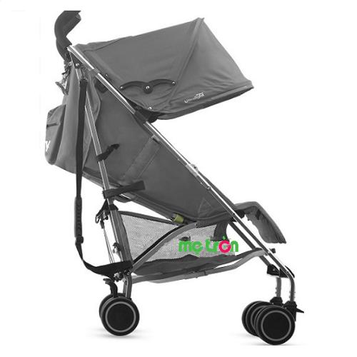 Xe đẩy trẻ em siêu nhẹ Joovy Groove màu xám thiết kế siêu tiện dụng