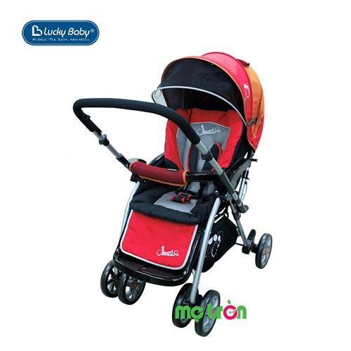 Xe đẩy em bé Lucky Baby Dazzle 501337-RED màu đỏ chắc chắn