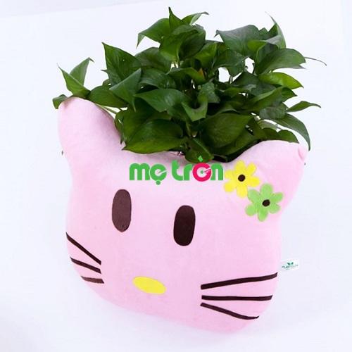 <p>Gối kệ chuyện Pubtech hình Mèo Kitt màu hồng siêu đáng yêu là chiếc gối cao cấp dành cho trẻ từ 2 – 7 tuổi. Gồm 200 câu chuyện cổ tích ý nghĩa, phong phú về nội dung, với kiểu dáng hình Mèo Kitty màu hồng đáng yêu, sẽ tạo sự thích thú nhất cho bé.</p>