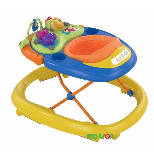 Xe tập đi Walky Talky Chicco 6M+ 2 màu vàng và xanh lá là sản phẩm chất lượng từ Italia được thiết kế đặc biệt với 3 mức điều chỉnh thích hợp sử dụng với từng giai đoạn phát triển của trẻ. Sản phẩm được thiết kế bánh xe xoay linh hoạt hỗ trợ từng bước đi của bé, đây chắc chắn là món quà tuyệt vời mà bố mẹ dành tặng cho bé yêu của mình.