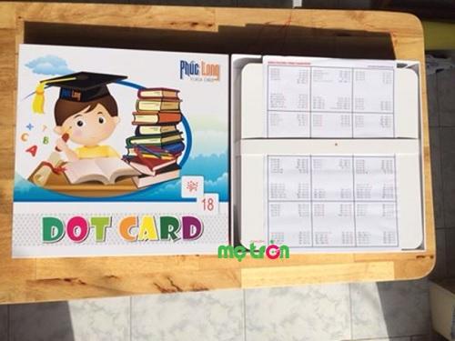 Bộ dạy toán Dotcard cho trẻ từ sơ sinh