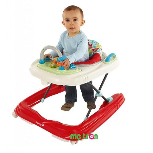 Xe tập đi thiết kế tiện dụng Safety Happy Play Time - 66430 được thiết kế thông minh vị trí ghế ngồi 3 nấc điều chỉnh và tháo lắp dễ dàng, giúp trẻ thích nghi với từng giai đoạn phát triển, sản phẩm giúp nâng niu những bước chân đầu đời của trẻ và mang đến cho bé những giây phút vui chơi thoải mái.