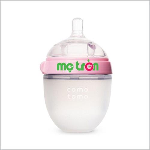 <p>Bình sữa Comotomo 150ml làm từ silicone cao cấp (màu hồng - CT00012) là một trong những sản phẩm bán chạy nhất trên thị trường hiện nay được làm từ chất liệu cao cấp, không chứa độc tố bảo vệ an toàn sức khỏe cho trẻ</p>