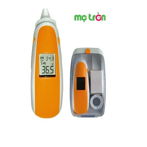 Nhiệt kế điện tử hồng ngoại qua tai Combi 89620 được sử dụng công nghệ hiện đại cảm biến hồng ngoại đo nhiệt độ cơ thể ở màng nhĩ. Đây là chiếc nhiệt kế thế hệ mới được thiết kế thông minh giúp việc đo nhiệt độ cơ thể cho trẻ đơn giản, tiện lợi và chính xác cao.