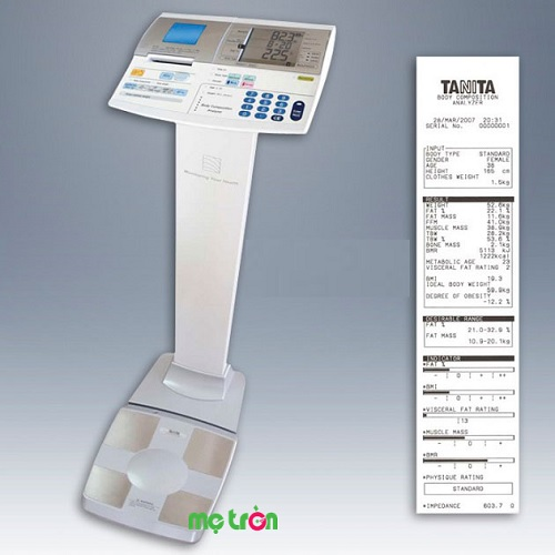 Cân sức khỏe và kiểm tra độ béo Tanita tiêu chuẩn quốc tế SC 330P