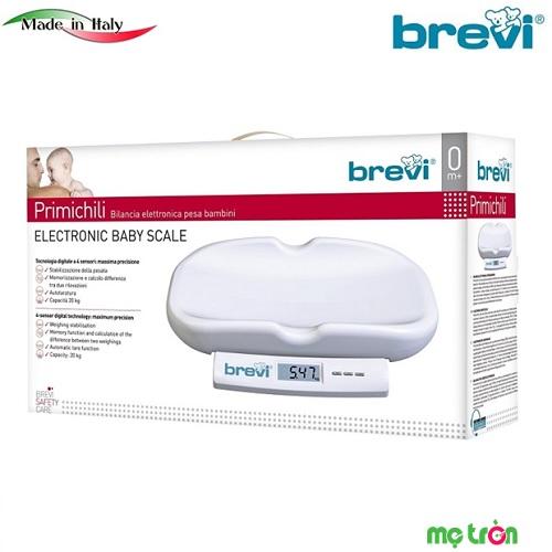 Cân điện tử Brevi màn hình LCD BRE344 có chức năng ghi nhớ