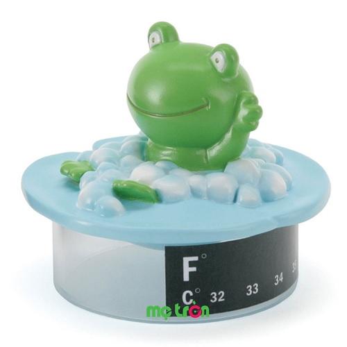 Đo nhiệt độ nước tắm safety-44743 hình chú ếch dễ thương ngộ nghĩnh là sản phẩm dùng để đo nhiệt độ nước khi tắm cho trẻ giúp mẹ kiểm tra và điều chỉnh độ nóng của nước phù hợp cho làn da bé. Ngoài ra, sản phẩm còn được dùng cho bé chơi và có thể nổi trên nước, được làm từ chất liệu nhựa an toàn của Mỹ.