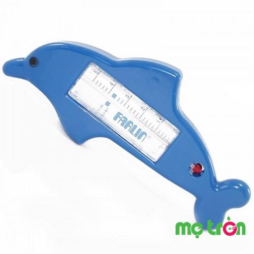 Nhiệt kế đo nước tắm không làm bằng thủy ngân Farlin BF179 là sản phẩm nhập mang thương hiệu Đài Loan được làm từ chất liệu nhựa an toàn. Đặc biệt, bộ phận đo nhiệt độ không sử dụng thủy ngân mà làm bằng cồn nên rất an toàn cho bé. Sản phẩm thích hợp dùng để đo nhiệt độ nước tắm cho trẻ theo mùa.