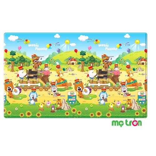 Thảm chơi chủ đề âm nhạc Playmat Dwinguler là một vật dụng nội thất và cũng là 1 loại đồ chơi mà trẻ em ham thích. Sản phẩm được thiết kế với những hình ảnh được hoài hòa và sinh động như những khu rừng có nhiều loài sinh vật giúp bé được an toàn và vui thích hơn khi chơi hằng ngày.