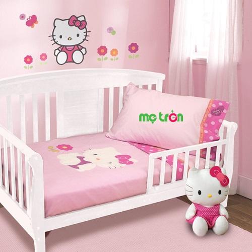 Fullset quây chăn ga gối FS 035 Kitty màu hồng đáng yêu là sản phẩm chất lượng cao cấp được sản xuất tại Việt Nam. Sản phẩm được kiểm định độ an toàn tối đa không gây gại cho sức khỏe của bé.