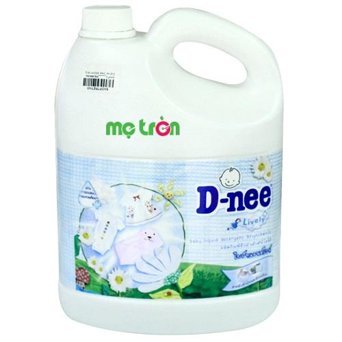 <p>Dung dịch giặt xả Dnee 3000ml màu trắng an toàn và tiện lợi</p>
