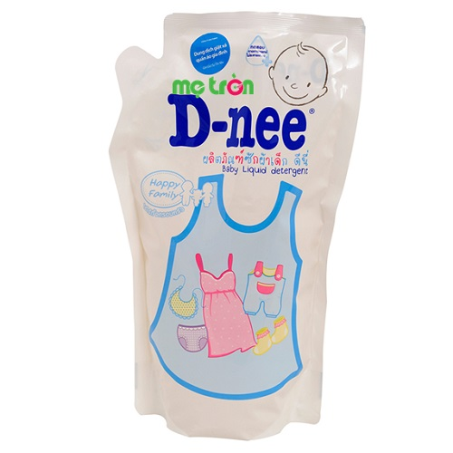 Dung dịch giặt xả Dnee 600ml túi trắng tiện dụng và tiết kiệm cho mẹ
