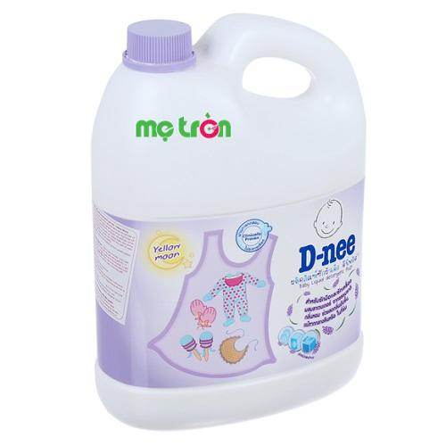 <p>Dung dịch giặt xả Dnee 3000ml màu tím mềm dịu với da tay</p>