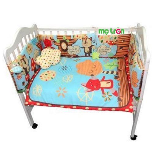 Bộ drap giường Lucky Baby 622094 là sản phẩm được rất nhiều bậc phụ huynh yêu thích và lựa chọn cho bé yêu sử dụng. Chất liệu vải cao cấp rất mềm mại, an toàn, thiết kế tinh tế với màu sắc và họa tiết bắt mắt rất phù hợp với không gian sử dụng cho bé.