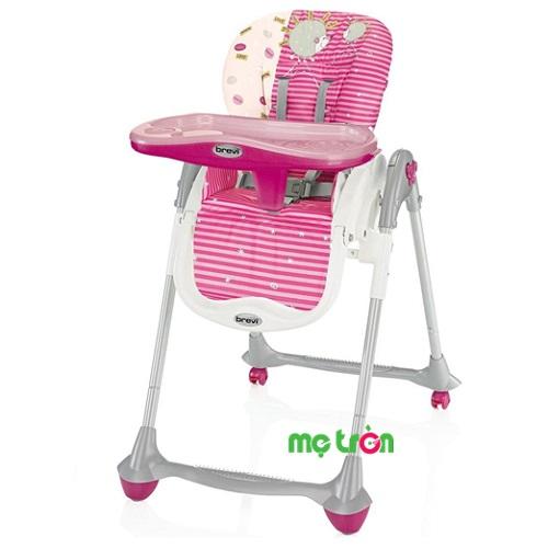 Ghế ăn bột Brevi Convivio BRE281-066 màu hồng là dòng sản phẩm ghế ngồi chất lượng cao cấp của thương hiệu Brevi. Với thiết kế tinh tế nhưng không kém phần sang trọng, với nhiều tính năng nổi trội như giúp bé có được tư thế ngồi khoa học, đảm bảo xương sống phát triển bình thường. Ngoài ra, ghế còn giúp mẹ cho bé ăn một cách dễ dàng, tiết kiệm thời gian hơn.