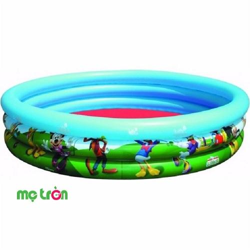 Bể phao bơi hình chuột Micky 3 tầng Bestway 91007