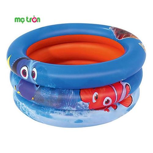 Bể phao 3 tầng hình cá vàng Nemo nhỏ Bestway 91109